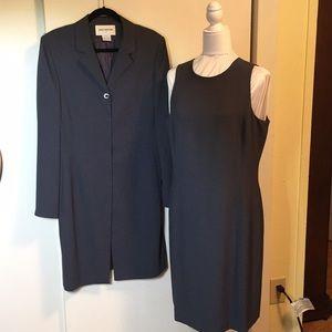 JONES NEW YORK Dk Gray Ladies Suit